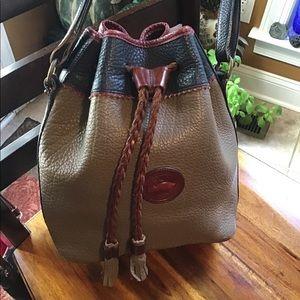 Awesome vintage Dooney & Bourke drawstring bag